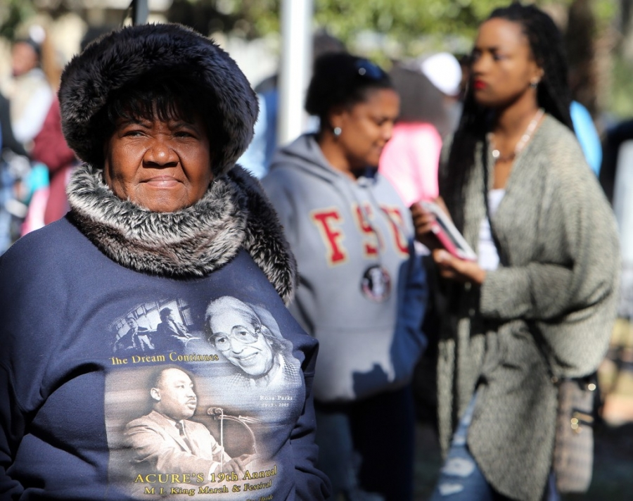Beulah Bowers enjoys the 29th annual Martin Luther King Festival in Panama City. (Panama City Photographer |Andrew Wardlow)