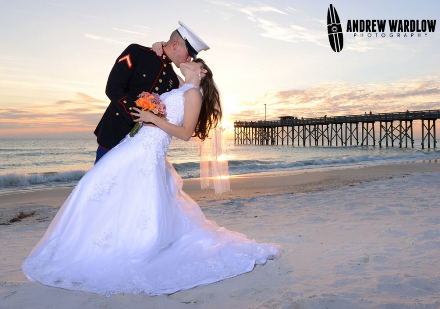 """""""Andrew did the photography for our beach wedding and I can honestly say I was amazed at the perfect shots he got of our family! From the tears of joy on my face when I was saying I do to the excitement and nervousness of my husband before and during the ceremony and the bonding of our families at this important moment in our lives! I can not say this enough, but he did an amazing job! If we come back to renew our vows years from now I will be using his services again and would highly recommend him! Breathtaking, professional, and all I could ever have wanted he captured!"""" - Amanda"""
