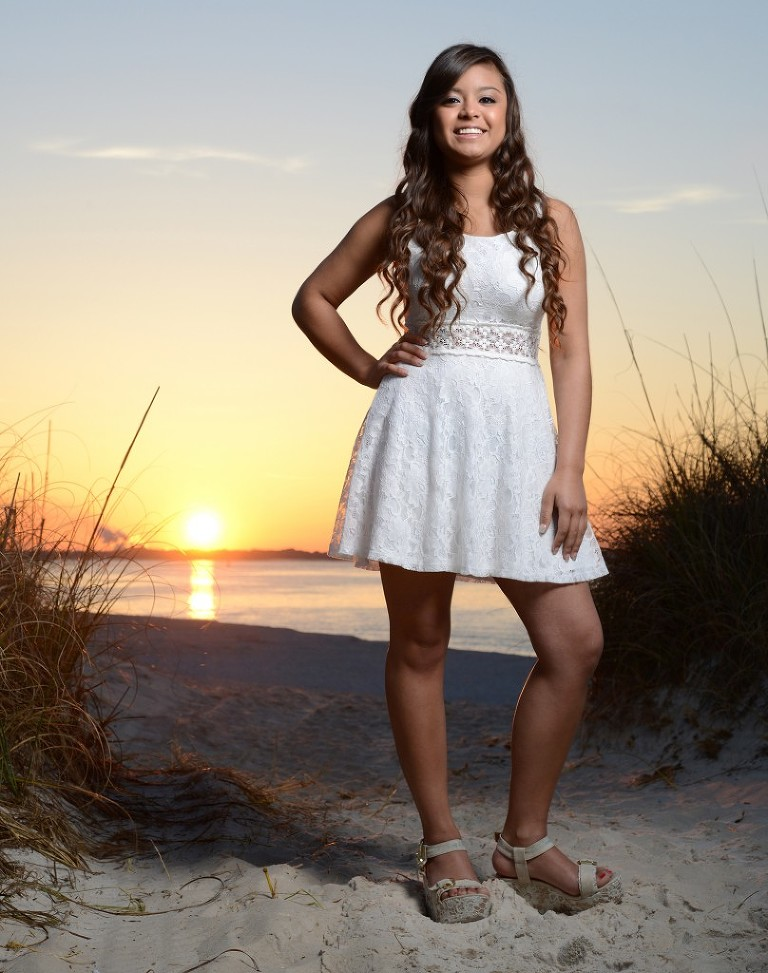 Panama City Beach Senior Portrait Photographer